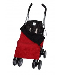 Red Roses Buggy Blanket