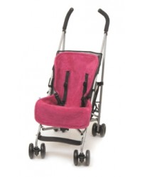 Reversible Spanish Pink Buggy Liner