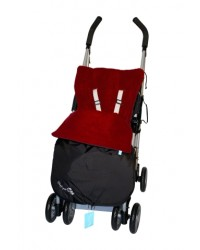 Weatherproof Red Fleece Buggy Muff