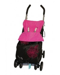 Weatherproof Applique Cerise Buggy Muff
