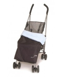 Weatherproof Sky Blue Fleece Buggy Blanket
