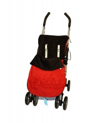 Red Roses Buggy Muff